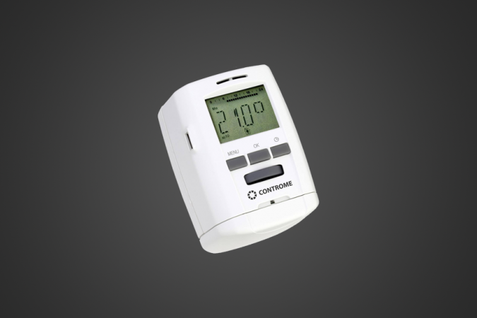 New radiator thermostats!