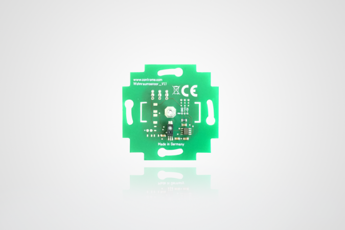 New multi-room sensor with humidy measurement available now!