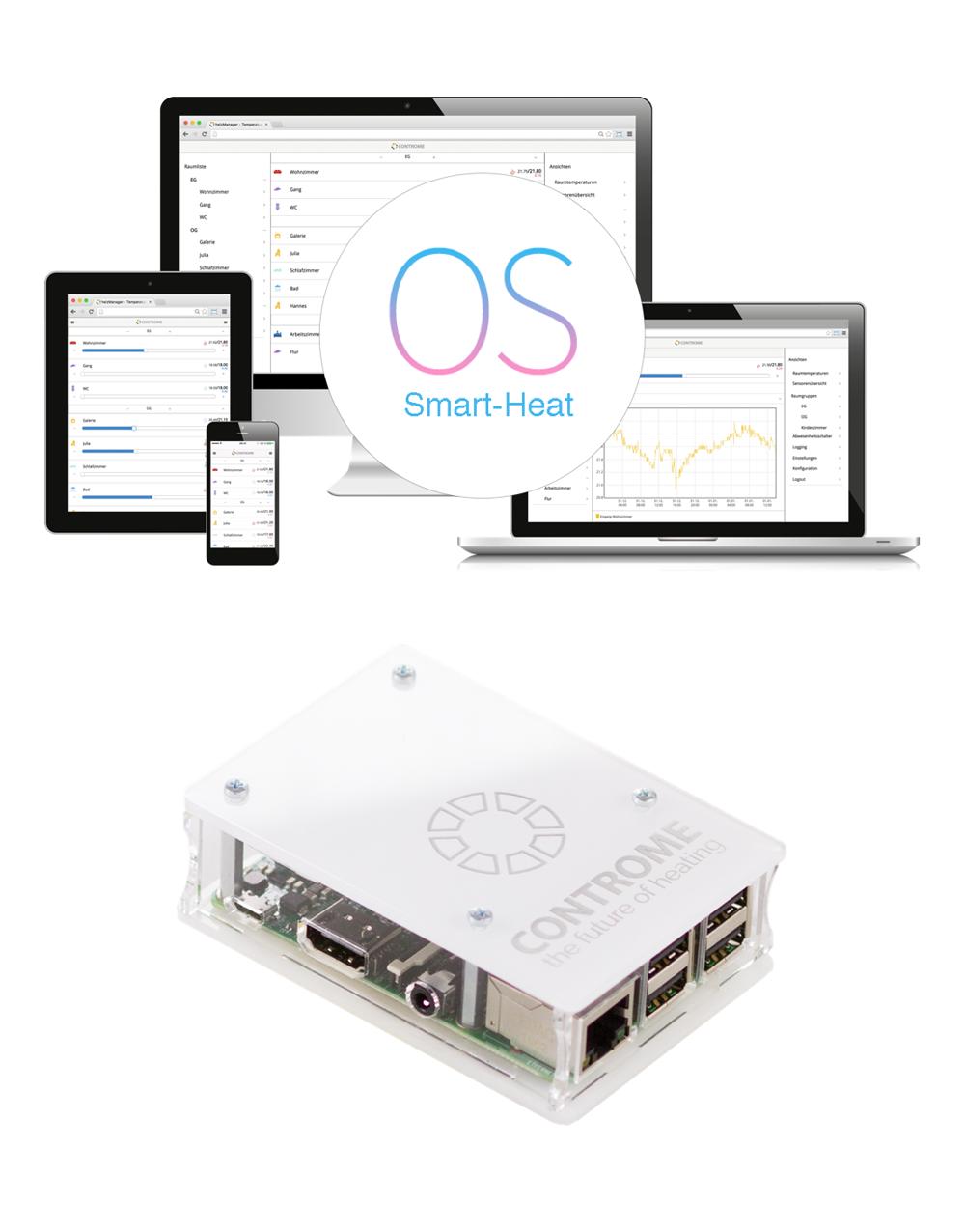 Smart Home Heizungssteuerung Mini Server Inkl Smart Heat Os